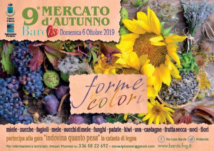 FORME & COLORI - 9° MERCATO D'AUTUNNO @ BARCIS