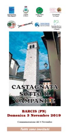 CASTAGNATA SOTTO IL CAMPANILE @ BARCIS