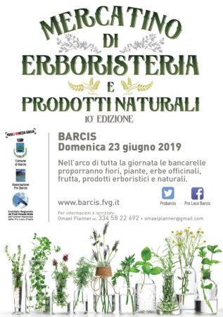 Mercatino di Erboresteria e Prodotti Naturali @ Barcis