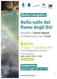 """Mostra Fotografica """"Nella valle del fiume degli Dei"""" @ Barcis (PN)"""