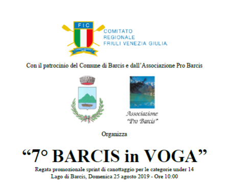 7 ED. BARCIS IN VOGA @ BARCIS