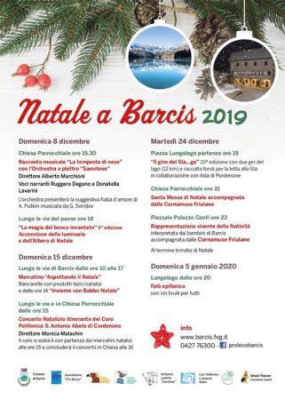 """Mercatino """"Aspettando il Natale"""" @ Barcis"""